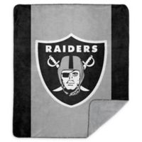 NFL Oakland Raiders Denali Sliver Knit Throw Blanket