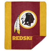 NFL Washington Redskins Denali Sliver Knit Throw Blanket
