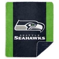 NFL Seattle Seahawks Denali Sliver Knit Throw Blanket