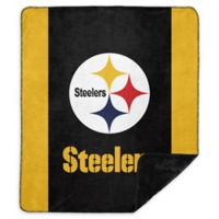 NFL Pittsburgh Steelers Denali Sliver Knit Throw Blanket