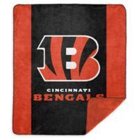 NFL Cincinnati Bengals Denali Sliver Knit Throw Blanket