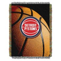 NBA Detroit Pistons Photo Real Tapestry Throw Blanket