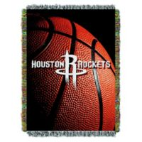 NBA Houston Rockets Photo Real Tapestry Throw Blanket