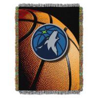 NBA Minnesota Timberwolves Photo Real Tapestry Throw Blanket
