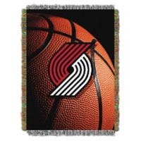 NBA Portland Trailblazers Photo Real Tapestry Throw Blanket