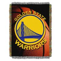 NBA Golden State Warriors Photo Real Tapestry Throw Blanket