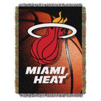 NBA Miami Heat Photo Real Tapestry Throw Blanket