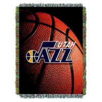 NBA Utah Jazz Photo Real Tapestry Throw Blanket
