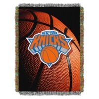 NBA New York Knicks Photo Real Tapestry Throw Blanket