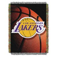 NBA Los Angeles Lakers Photo Real Tapestry Throw Blanket