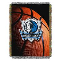NBA Dallas Mavericks Photo Real Tapestry Throw Blanket