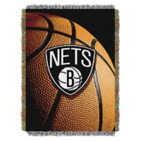 NBA Brooklyn Nets Photo Real Tapestry Throw Blanket