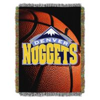 NBA Denver Nuggets Photo Real Tapestry Throw Blanket
