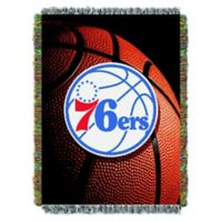 NBA Philadelphia 76ers Photo Real Tapestry Throw Blanket