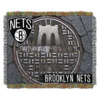 NBA Brooklyn Nets Photo Real Tapestry Throw Blanket