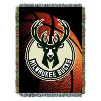 NBA Milwaukee Bucks Photo Real Tapestry Throw Blanket