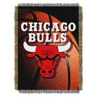 NBA Chicago Bulls Photo Real Tapestry Throw Blanket