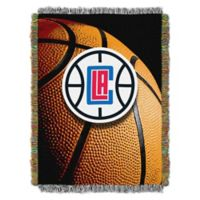 NBA Los Angeles Clippers Photo Real Tapestry Throw Blanket