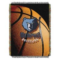 NBA Memphis Grizzlies Photo Real Tapestry Throw Blanket