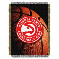 NBA Atlanta Hawks Photo Real Tapestry Throw Blanket