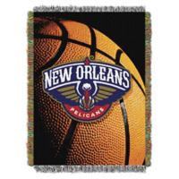 NBA New Orleans Pelicans Photo Real Tapestry Throw Blanket