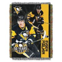 NHL Pittsburgh Penguins Evgeni Malkin Player Woven Tapestry Throw Blanket