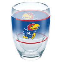 Tervis® University of Kansas Original 9 oz. Stemless Wine Glass