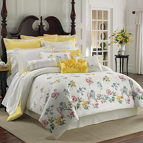 High Quality Lenox® Flowering Meadow Comforter Set, 100% Cotton