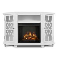 Real Flame® Lynette Electric Fireplace and Entertainment Center in White