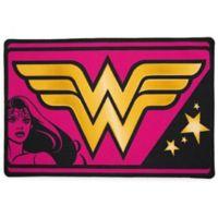 "DC Comics Wonder Woman 2'6"" x 4' Area Rug in Pink"