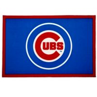 MLB Chicago Cubs 2'6 x 4' Area Rug in Blue