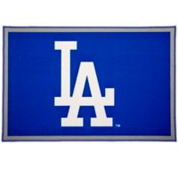 MLB Los Angeles Dodgers 2'6 x 4' Area Rug in Blue