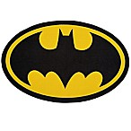 "DC Comics Batman 2'6"" x 4' Area Rug in Black"
