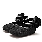 Stepping Stones Size 3-6M Halo Mary Janes in Black
