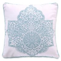 Levtex Home Valen Square Throw Pillow in Teal