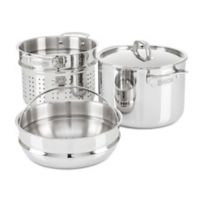 Viking® 3-Ply Stainless Steel 8 qt. Multi-Cooker Pot with Steamer