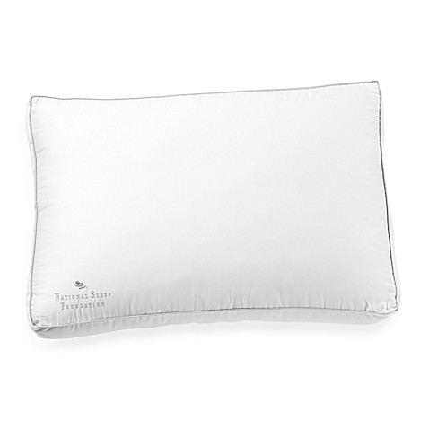 National Sleep Foundation Supreme Gusset Pillow Bed Bath