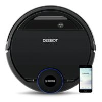 ECOVACS DEEBOT Ozmo 930 Robotic Vacuum/Mop Cleaner in Black