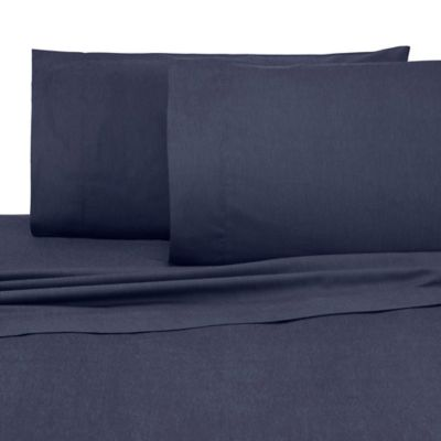 Superieur IZOD® Relaxed Classic Full Sheet Set In Navy