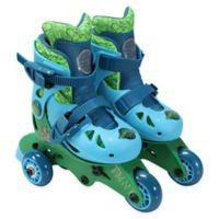 PlayWheels Teenage Mutant Ninja Turtles Size 6-9 Convertible 2-in-1 Roller Skates