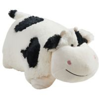 Pillow Pets® Comfy Cow Pillow Pet in Black/White