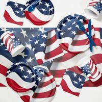 Creative Converting™ 81-Piece Freedoms Flag Party Supplies Kit