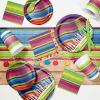 Creative Converting 81-Piece Serape Fiesta Party Supplies Kit