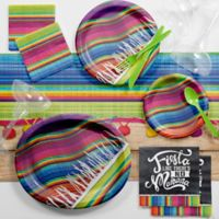 Creative Converting™ 83-Piece Serape Fiesta Deluxe Party Supplies Kit