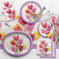 Creative Converting™ 89-Piece Beautiful Blooms Floral Deluxe Party Supplies Kit