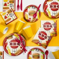 Creative Converting 81-Piece BBQ Time Party Supplies Kit