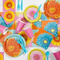 Creative Converting 81-Piece Petal Pop Floral Party Supplies Kit