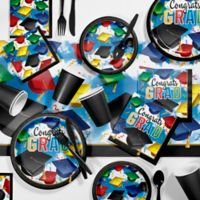 Creative Converting 81-Piece Graduation Celebration Party Supplies Kit