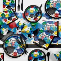 Creative Converting 501-Piece Graduation Celebration Party Supplies Kit