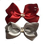 Curls & Pearls 2-Pack Large Bow Headbands